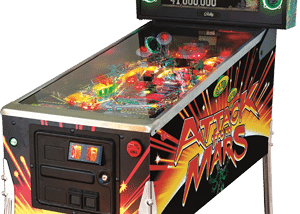 flipper afm se remake attack from mars
