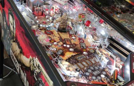 flipper walking dead stern pinball