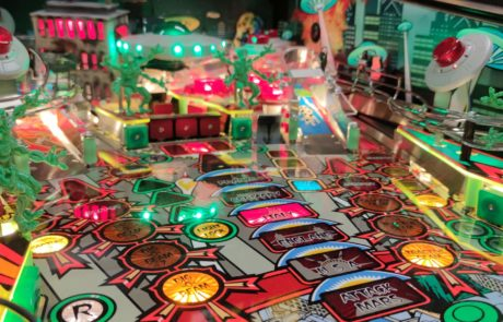 flipper attack from mars pinball